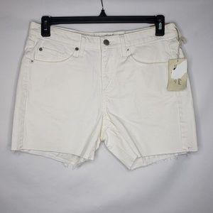 Universal Thread White Boyfriend Shorts